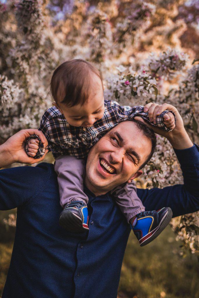 sesja plenerowa tata i syn koszalin fotograf