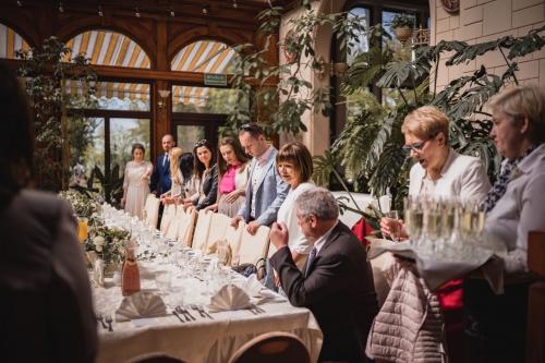 wesele w bursztynowym pałacu w strzekęcinie