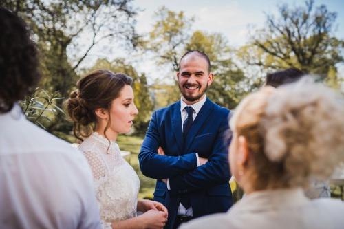 pan młody, fotograf koszalin wesele w bursztynowym pałacu w strzekęcinie