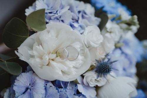 obrączki ślubne, bloom art bukiet ślubny
