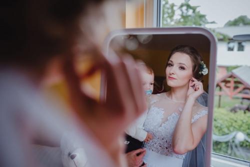 przygotowania panny młodej w mielnie ślub