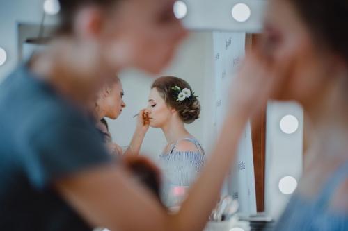 makijaż ślubny aleina makeup rompska fotografia