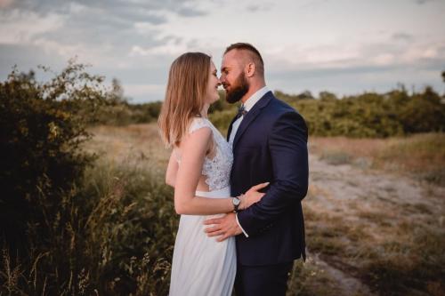 ślub nad morzem fotograf koszalin mielno, rompska fotografia