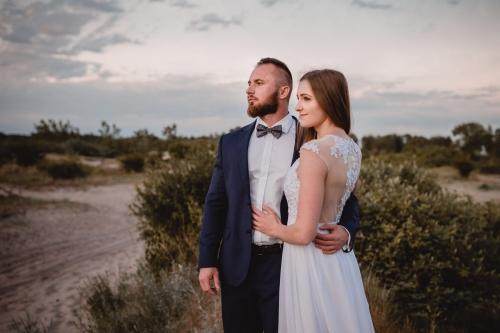 sesja ślubna w plenerze, fotograf koszalin mielno, rompska fotografia