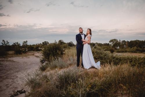 sesja ślubna plenerowa fotograf koszalin mielno, rompska fotografia