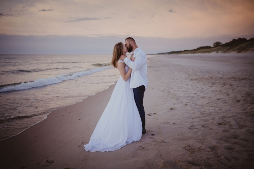 romantyczna sesja ślubna fotograf koszalin mielno rompska fotografia