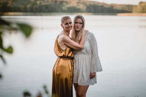 jezioro wyszebórz sesja plenerowa fotograf koszalin barbara rompska