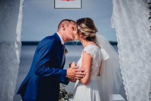Rustykalny Ślub cywilny w plenerze Ranczo Panderossa, fotograf ślubny Barbara Rompska koszalin szczecinek