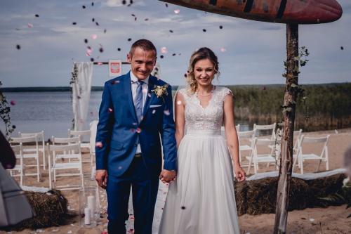konfetti ślub plenerowy ranczo panderossa gwda wielka