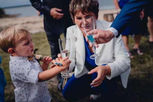 toast ślub
