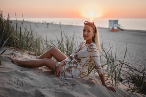 Wieczór panieński nad morzem, fotograf Koszalin, Mielno Barbara Rompska